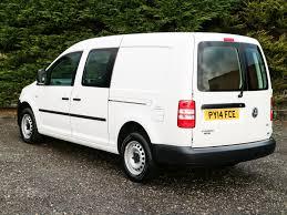 vw minivan 2014 used volkswagen caddy c20 maxi kombi eu 5 102bhp lwb 5 seat crew