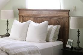 attractive wooden headboard double bed best 25 wooden double bed