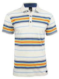 Bench Mens T Shirts Bench Mens Polo T Shirt U0027margam U0027 Yarn Dye Stripe Short Sleeved Ebay