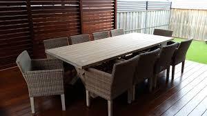 the lyon 280cm teak dining table