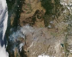 California Wildfire Satellite View by Nasa Viz America On Fire