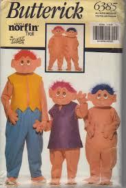 butterick halloween costumes butterick 6385 boys girls norfin troll costume pattern childs