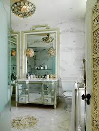 Mirrored Bathrooms Mirrored Bathroom Vanity Eclectic Bathroom Sera Of