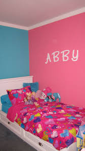 Bedroom Wall by Pink And Turquoise Girls Bedroom Girls Room Ideas On Pinterest