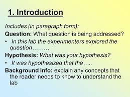 Microbiology unknown lab report examples SlidePlayer  PDF how to write a laboratory report   School of Psychology