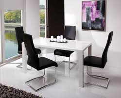 Modern Dining Table Chairs Modern Dinner Table Best  Modern - White modern dining room sets
