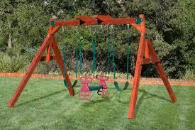 backyard wooden swing sets in texas oklahoma westtexasswingsets com