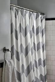 Green Chevron Shower Curtain Demitasse Chevron Shower Curtain Green Bathroom Bliss