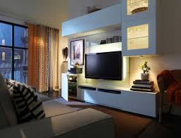 Bedroom Wall Units by Interior Design Credenza Tv Stand Organizer Shelves Ikea Wall