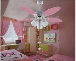 bedroom ceiling fans with lights 2018 wholesale cute pink ceiling fan light kids room 051 42 inches