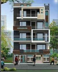 Residential Exterior Services Residential Flat Exterior - Apartment exterior design