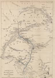 Rivers Of Africa Map by Maps From The Journal Of The Royal Geographical Society Of London
