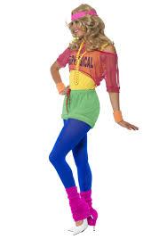 80s Halloween Costumes Kids Women U0027s 80s U0027s Physical Costume