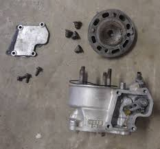 2003 suzuki rm85 asis cylinder with head needs repair l k 03 rm