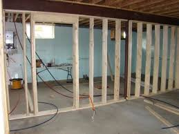 diy basement framing basics with basement framing concrete wall