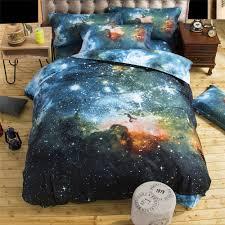 shop for 3d colorful galaxy 4pcs duvet cover set outer space