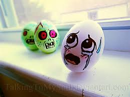 talking easter eggs they risen easter eggs from beyond the grave riot