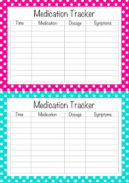 buy medication chart template print posters on wallpart