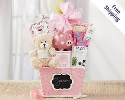 wine gift baskets free shipping baby shower wine gift baskets for girl or boy free shipping