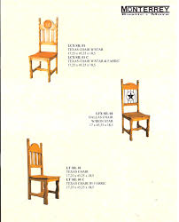 texas star dining room chairs u2013 monterrey rustic furniture