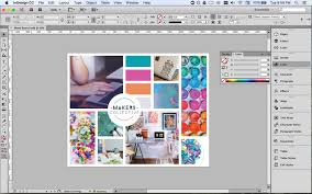 design board maker how to create a mood board in indesign the makers collective