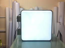 image 55cm square projecting light box led