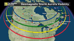 Where Is Fort Mcmurray On A Map Of Canada by News Bright Solar Flare Brings Promise Of Auroras Across Canada
