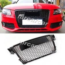 audi rs4 grill front grille honeycomb grill rs style auto car grille fit for