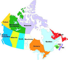 Canada Map by The 36 Provinces Of Canada Map Quiz Endearing Enchanting Map