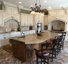 Custom Made Kitchen Islands by Custom Kitchen Island Kitchen With Dark Cabinetry With Rounded