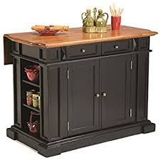 home style kitchen island amazon com home styles 5020 948 monarch kitchen island with 2