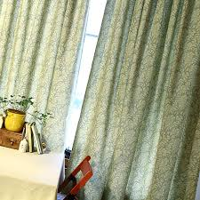 vintage bedroom curtains cotton material printing vintage modern bedroom curtains