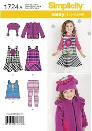 fleece jumper pattern toddler simplicity 1724 sewing pattern toddlers jumper or top jacket