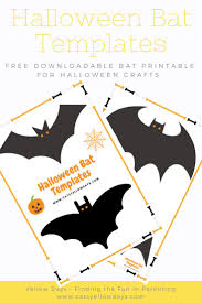 Halloween Craft Patterns Best 25 Bat Template Ideas On Pinterest Halloween Templates