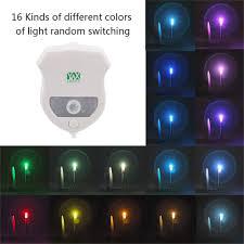 Bathroom Sensor Lights by 2pcs Ywxlight Ip65 Smart Bathroom Toilet Nightlight Led Seat