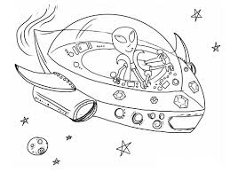 alien coloring pages getcoloringpages com