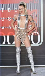 sexy nude miley cyrus vote the most outrageous red carpet moments of 2015 glamour