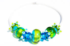 lime with turquoise spacers studio thirteen