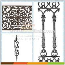 cast iron ornaments baluster window baluster for security