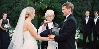 how to officiate a wedding this only wanted one special person to officiate wedding
