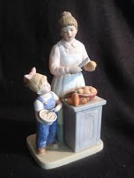 denim days home interior denim days figurine sleds 1528 w tag mint winter
