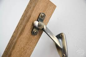 Wooden Handrail How To Install A Wooden Handrail On Split Level Stairs Lemon Thistle