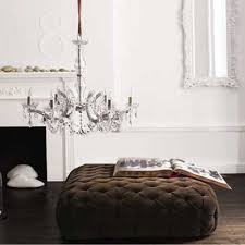 Square Tufted Ottoman Tufted Ottoman Capriciously Inspired
