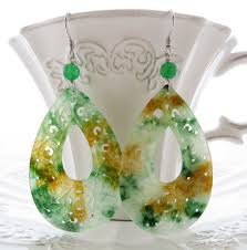 best 25 jade earrings ideas on vintage pearls