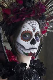 Scary Halloween Looks 66 Best Grimage Mort Mexicaine Images On Pinterest Halloween