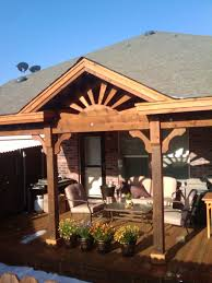 Building A Hip Roof Patio Cover by Gable Roof Ranch Style Patio Covers Are Custom Built To Fit