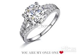 weddings rings silver images Wedding favors diamond wedding rings sets for women cheap wedding jpg