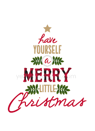 have yourself a merry little christmas rustic sign yellow bliss road