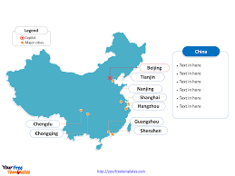 Blank Map Of Vietnam by Free China Editable Map Free Powerpoint Templates