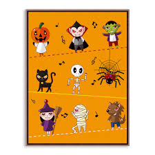 halloween art prints popular pumpkin painting kids buy cheap pumpkin painting kids lots